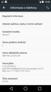 Testujeme Android L