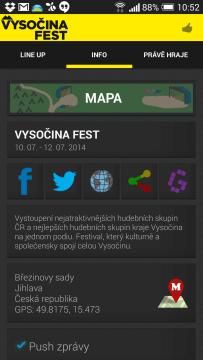 festivaly vysočina fest