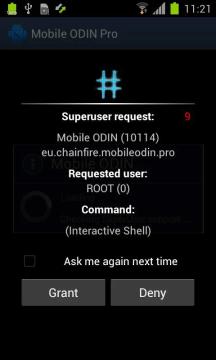 Aplikace SuperSU od Chainfire
