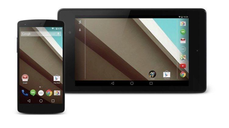 Android L: Google uvolnil vývojářský náhled pro Nexus 5 a Nexus 7