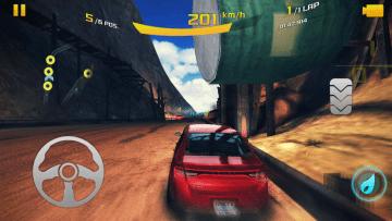 Asphalt 8 - GPU zvládá i dynamické rozostření ve hře