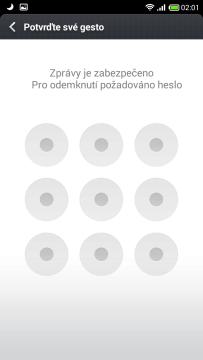 Kontrola přístupu k vybrané aplikaci