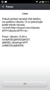 Připojení k počítači - Linux