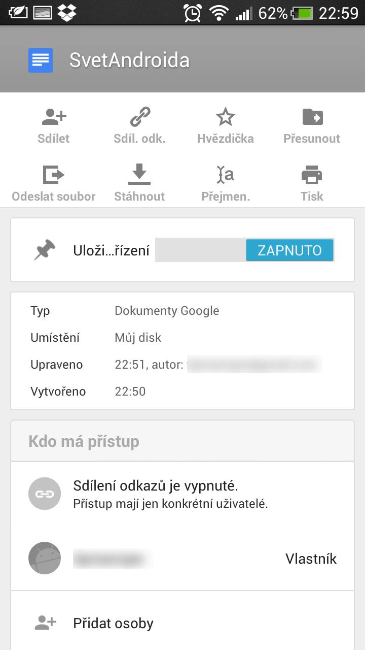 Google docs aktualizovan nyni podporuje soubory microsoft for Google docs for android apk