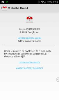 Gmail 4.9