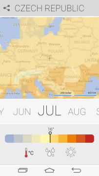 Teploty v červenci