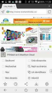 Internetový prohlížeč Maxthon