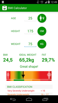BMI Calculator 1