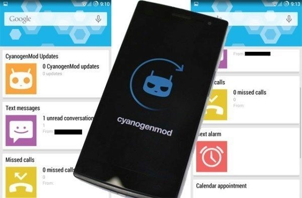 V nočních sestaveních ROM CyanogenMod se objevila alternativa Google Now