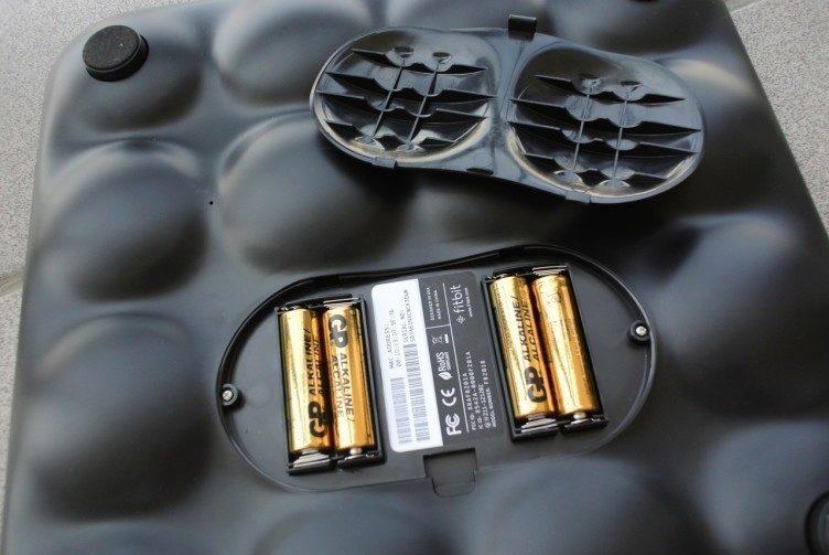 Fitbit Aria recenze - baterie
