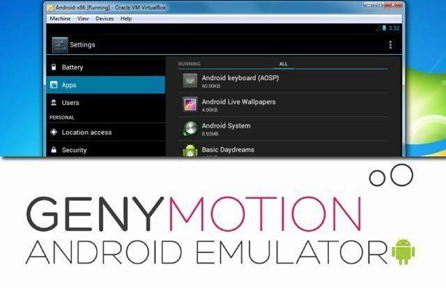 Genymotion: vyzkoušejte si Android na počítači jako virtuální stroj!