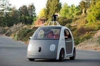 google auto hlavni