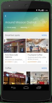 Mapy Google: hledání kolem místa