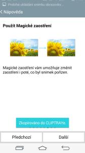 Prezentace funkcí fotoaparátu LG G3