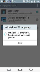 Nabídka instalace programů do počítače