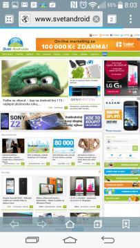 Webový prohlížeč Internet