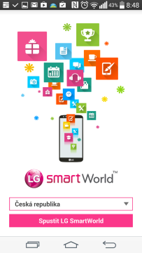 LG Smart World