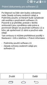 Úvodní nastavení - instalace aplikací