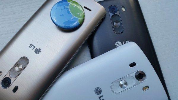 LG G3 má demontovatelný zadní kryt