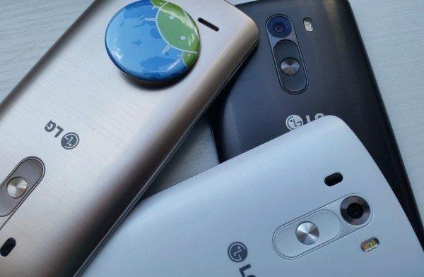 Současný vlajkový model LG G3
