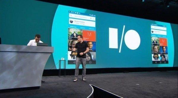 Android L byl představen minulý týden na vývojářské konferenci Google I/O