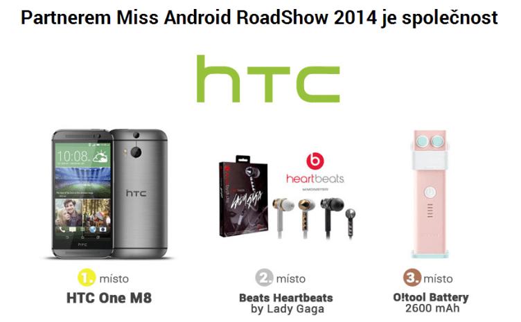 miss android roadshow 2014 - ceny