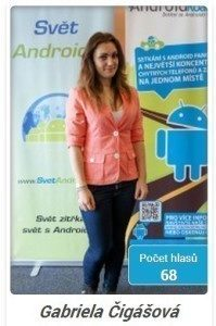 miss android roadshow 2014 - gabriela