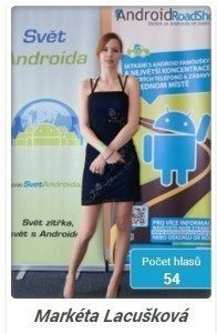 miss android roadshow 2014 - marketa
