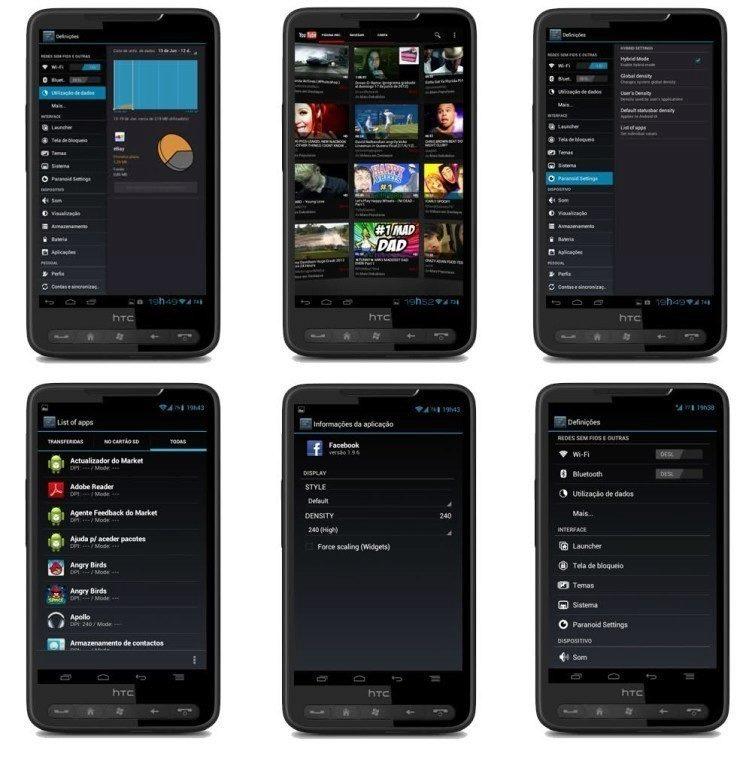 Alternativní ROM Paranoid Android