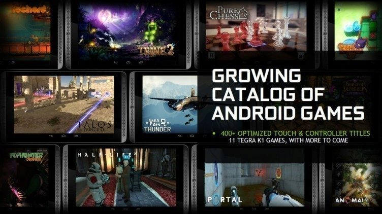 nvidia shield tablet - hry
