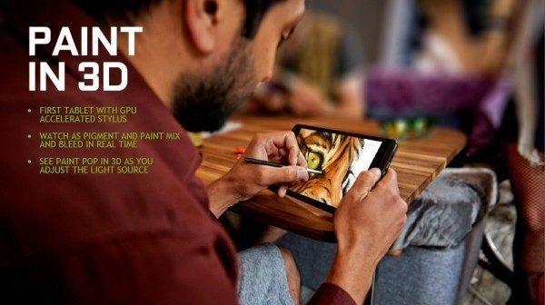nvidia shield tablet stylus