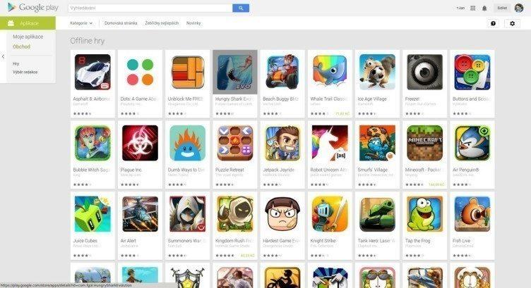 offline hry google play