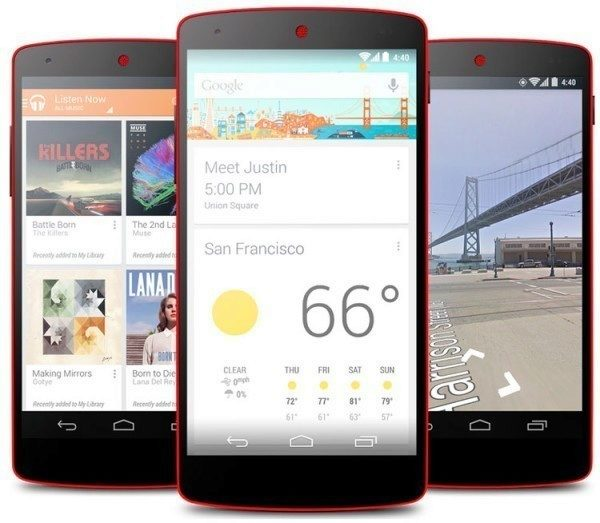 Google vydává Android 4.4.4 r2 (KTU84Q) pro telefony Nexus 5