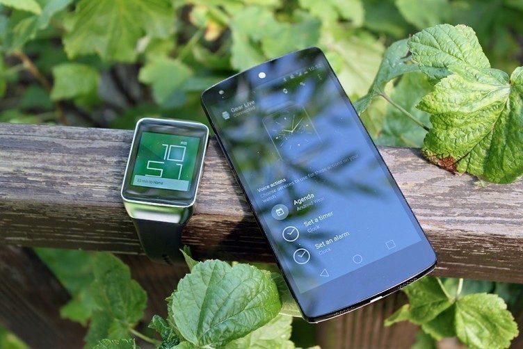 Samsung Gear Live a Nexus 5