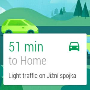 Samsung Gear Live apliakce Mapy 1