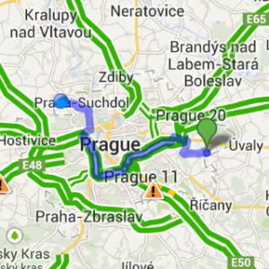 Samsung Gear Live apliakce Mapy 2