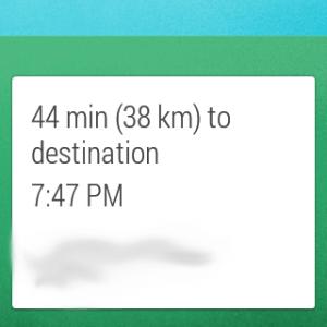 Samsung Gear Live apliakce Mapy 5