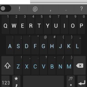 Samsung Gear Live apliakce Minuum Keyboard 2