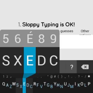 Samsung Gear Live apliakce Minuum Keyboard 3