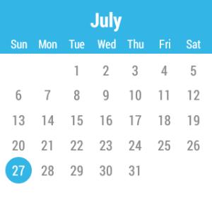 Samsung Gear Live aplikace Calendar 1