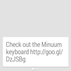 Samsung Gear Live aplikace Keep 1