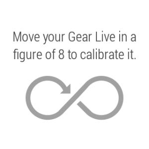 Samsung Gear Live aplikace Kompas 1