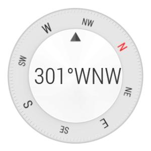 Samsung Gear Live aplikace Kompas 2