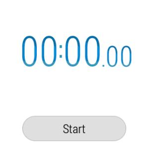 Samsung Gear Live aplikace Stopky 1