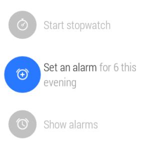 Samsung Gear Live prostředí Android Wear 12