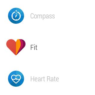 Samsung Gear Live prostředí Android Wear 14