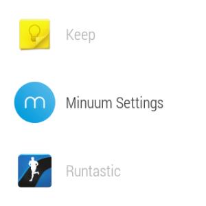 Samsung Gear Live prostředí Android Wear 15