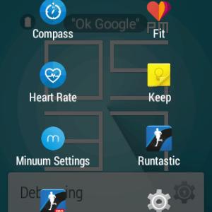 Samsung Gear Live prostředí Android Wear 17