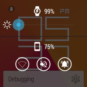 Samsung Gear Live prostředí Android Wear 18