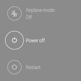 Samsung Gear Live prostředí Android Wear 20